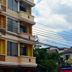 Отель Benjaratch Boutique Apartment Таиланд, Бангкок - отзывы, цены и фото номеров - забронировать отель Benjaratch Boutique Apartment онлайн балкон