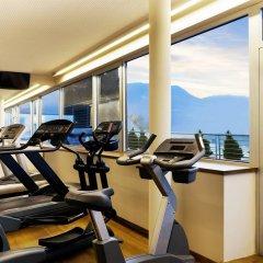 Отель Four Points by Sheraton Bolzano Больцано фитнесс-зал