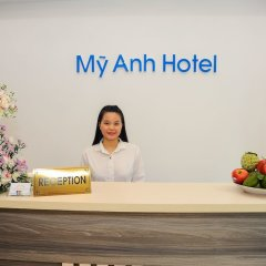 My Anh 120 Saigon Hotel интерьер отеля