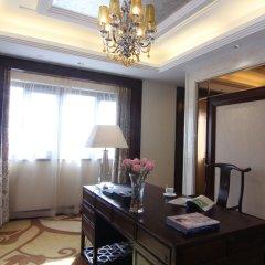 Отель Tang Dynasty West Market Hotel Xian Китай, Сиань - отзывы, цены и фото номеров - забронировать отель Tang Dynasty West Market Hotel Xian онлайн комната для гостей фото 2