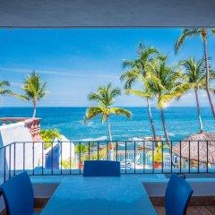 Отель Playa Conchas Chinas Пуэрто-Вальярта пляж