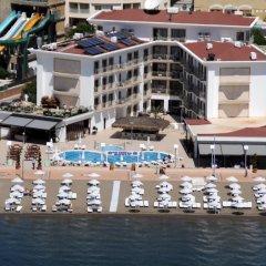 Paşa Garden Beach Hotel Турция, Мармарис - отзывы, цены и фото номеров - забронировать отель Paşa Garden Beach Hotel онлайн бассейн