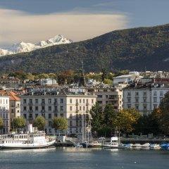 Отель The Ritz-Carlton, Hotel de la Paix, Geneva Швейцария, Женева - отзывы, цены и фото номеров - забронировать отель The Ritz-Carlton, Hotel de la Paix, Geneva онлайн приотельная территория фото 2