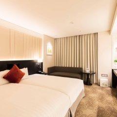 Отель Solaria Nishitetsu Hotel Seoul Myeongdong Южная Корея, Сеул - 1 отзыв об отеле, цены и фото номеров - забронировать отель Solaria Nishitetsu Hotel Seoul Myeongdong онлайн комната для гостей фото 3