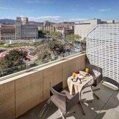 Отель Olivia Plaza Барселона балкон