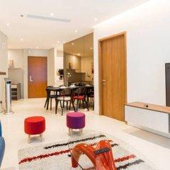 Отель Vortex KLCC Apartments Малайзия, Куала-Лумпур - отзывы, цены и фото номеров - забронировать отель Vortex KLCC Apartments онлайн комната для гостей фото 4