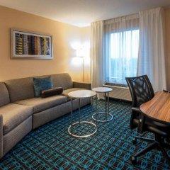 Отель Fairfield Inn & Suites by Marriott Meridian комната для гостей фото 3