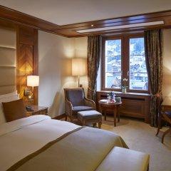 Grand Hotel Zermatterhof комната для гостей фото 2