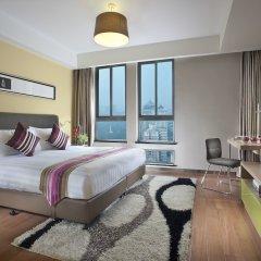 Отель Citadines Xingqing Palace Xi'an комната для гостей фото 4