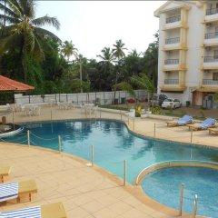 Отель Colva Kinara Индия, Гоа - 3 отзыва об отеле, цены и фото номеров - забронировать отель Colva Kinara онлайн бассейн фото 2