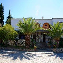 Отель Geranion Village пляж