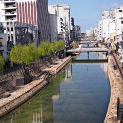 Fukuoka Hana Hostel Хаката приотельная территория фото 2