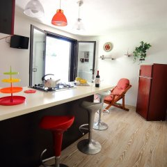 Отель Villetta Carla Фонтане-Бьянке гостиничный бар