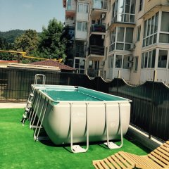 Отель Хоста Сочи бассейн фото 2