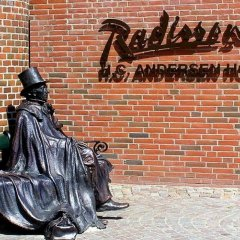 Отель Radisson Blu Hc Andersen Оденсе спортивное сооружение