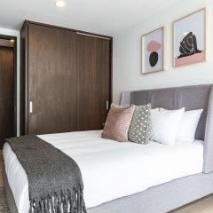 Отель 2BR Condesa Apt Just Steps From Parque Mexico Мехико комната для гостей фото 2