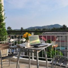 Отель Rattana Residence Sakdidet балкон
