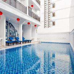 Отель Hoi An Golden Holiday Villa бассейн фото 3