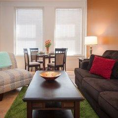 Отель Sunshine Suites at 417 США, Лос-Анджелес - отзывы, цены и фото номеров - забронировать отель Sunshine Suites at 417 онлайн комната для гостей фото 3