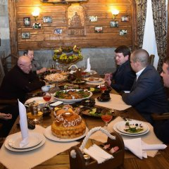 Гостиница Egorkino Hotel Казахстан, Нур-Султан - отзывы, цены и фото номеров - забронировать гостиницу Egorkino Hotel онлайн питание фото 3