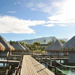 Отель Tahiti Ia Ora Beach Resort - Managed by Sofitel Французская Полинезия, Пунаауиа - отзывы, цены и фото номеров - забронировать отель Tahiti Ia Ora Beach Resort - Managed by Sofitel онлайн приотельная территория фото 2