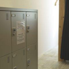 & And Hostel Хаката сейф в номере