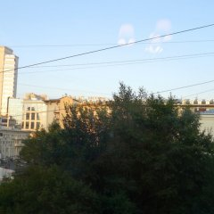 Апартаменты LUXKV Apartment on Smolenskaya балкон