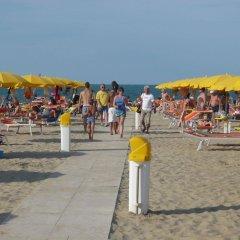 Отель Euromar Римини пляж