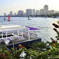 Отель Sofitel Cairo Nile El Gezirah пляж
