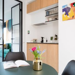 Отель Kith & Kin Boutique Apartments Нидерланды, Амстердам - отзывы, цены и фото номеров - забронировать отель Kith & Kin Boutique Apartments онлайн в номере фото 2
