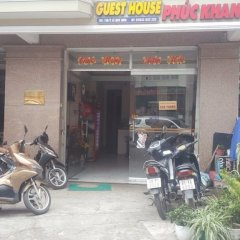 Отель Phuc Khang Guest House Далат вид на фасад