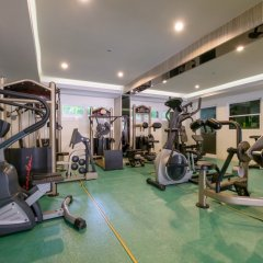 Отель NRC Residence Suvarnabhumi фитнесс-зал