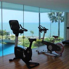 Отель The Palm Wongamat Beach Pattaya Паттайя фитнесс-зал фото 2