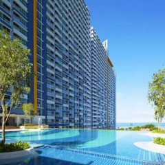 Отель Lumpini Parkbeach Jomtien Sea&Pool View by Dome Паттайя бассейн фото 3