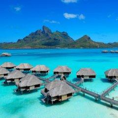 Отель Four Seasons Resort Bora Bora Французская Полинезия, Бора-Бора - отзывы, цены и фото номеров - забронировать отель Four Seasons Resort Bora Bora онлайн пляж фото 2