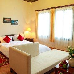 Отель Dalat Train Villa Вьетнам, Далат - отзывы, цены и фото номеров - забронировать отель Dalat Train Villa онлайн комната для гостей фото 5