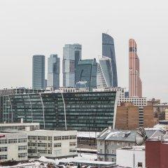 Апартаменты DailyRooms Na Berezhkovskoy Naberezhnoy Apartments Москва балкон фото 2
