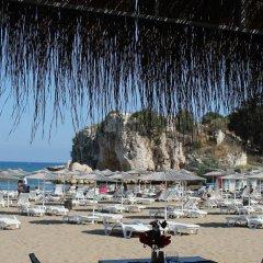 Mavi Beyaz Hotel Beach Club Силифке пляж фото 2
