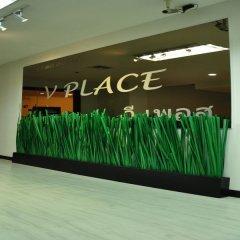 Отель Vplace Silom Бангкок парковка