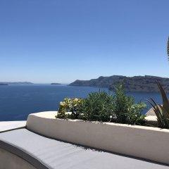 Отель Marble Sun Villa by Caldera Houses Греция, Остров Санторини - отзывы, цены и фото номеров - забронировать отель Marble Sun Villa by Caldera Houses онлайн балкон