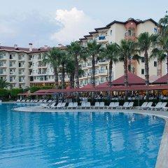 Miramare Beach Hotel Турция, Сиде - 1 отзыв об отеле, цены и фото номеров - забронировать отель Miramare Beach Hotel онлайн бассейн фото 2