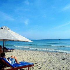 Отель Tan Thanh Beach Villa пляж фото 2