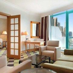 Отель Hilton Dubai Jumeirah 5* Представительский люкс с различными типами кроватей