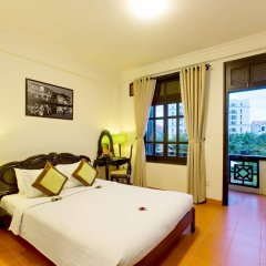 Отель Phu Thinh Boutique Resort And Spa Хойан комната для гостей фото 3