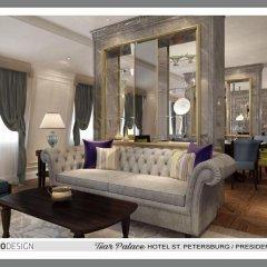 Гостиница Царский дворец 5* Стандартный номер с разными типами кроватей фото 5