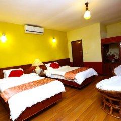 Отель Safari Adventure Lodge Непал, Саураха - отзывы, цены и фото номеров - забронировать отель Safari Adventure Lodge онлайн комната для гостей фото 3