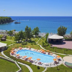 Justiniano Deluxe Resort Турция, Окурджалар - отзывы, цены и фото номеров - забронировать отель Justiniano Deluxe Resort онлайн пляж