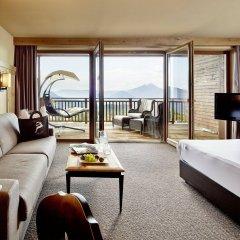 Hotel Chalet Mirabell Авеленго комната для гостей