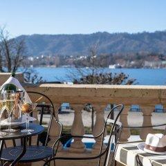 Отель La Réserve Eden au Lac Zurich Швейцария, Цюрих - отзывы, цены и фото номеров - забронировать отель La Réserve Eden au Lac Zurich онлайн балкон