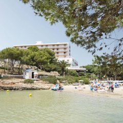 Отель Globales Cala'n Blanes Кала-эн-Бланес пляж